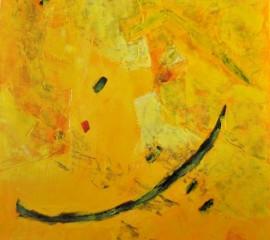 Zénithal 4 Huile sur toile  50 x 50cm